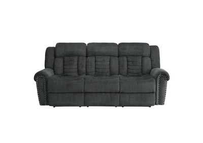 Image for Charcoal Gray Double Reclining Sofa