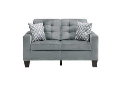 Image for Gray Love Seat
