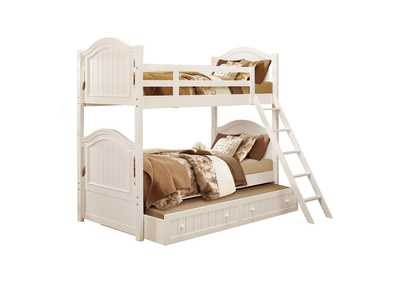 Image for Clementine White Twin/Twin Bunk Bed