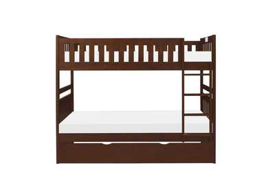 Image for Cherry Twin/Twin Bunk Bed with Twin Trundle
