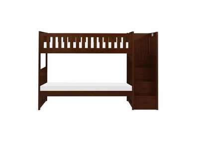 Image for Rowe Cherry Bunk Bed W/ Reversible Step Storage