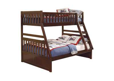 Image for Rowe Cherry Twin/Full Bunk Bed