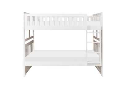 Image for Galen White Full/Full Bunk Bed