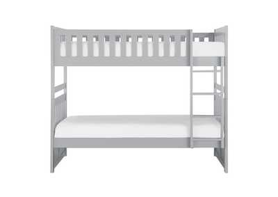 Image for Grey Twin/Twin Bunk Bed