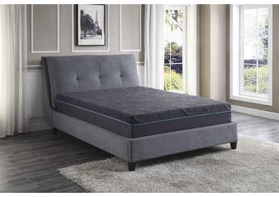 Image for H 11'' Gel-Infused Memory Foam Hybrid-Bedding Gray Twin Mattress