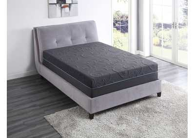 "Image for H 14'' Gel-Infused Memory Foam Hybrid-Bedding Gray 14"" Eastern King Gel Hybrid Mattress"