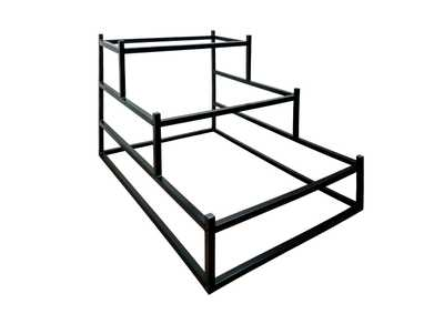 Image for Black Metal Display Rack for Queen