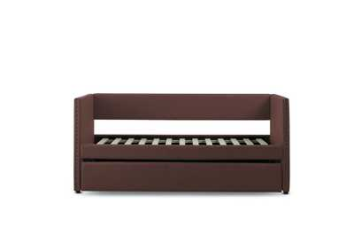 Therese Chocolate Daybed W/ Trundle