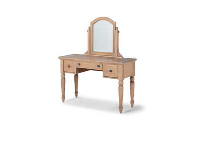 Image for Claire Vanity with Mirror By Homestyles