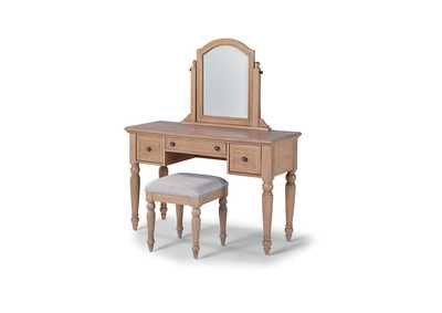 Image for Claire Vanity Set By Homestyles