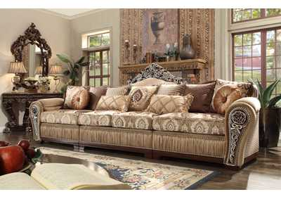 Image for Dark Red Mahogany Sectional