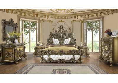 Image for Perfect Brown California King 5 Piece Bedroom Set