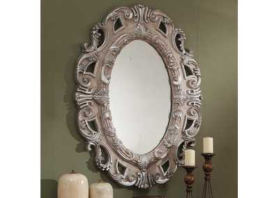 Image for Metallic Antique Silver Mirror