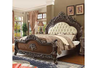 Image for Brown Cherry California King Bed