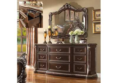 Image for Brown Cherry Dresser