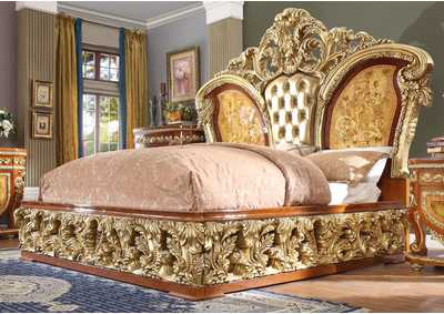 Image for Gold California King Bed