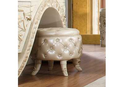 Image for Plantation Cove White Stool