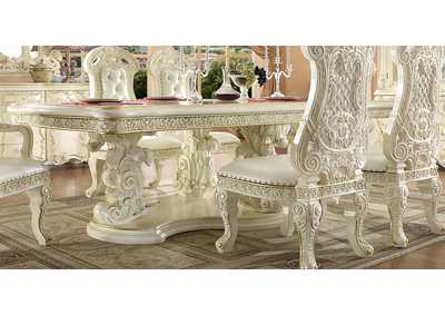 Image for White Gloss Dining Table
