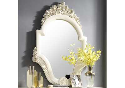 Image for White Gloss Mirror