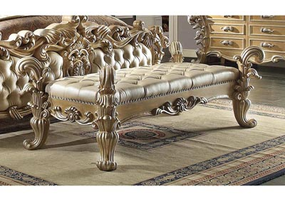 Image for Gold & Cream Bench