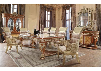 Image for Gold Dining Table