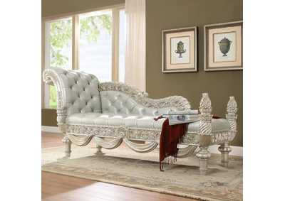 Image for Metallic Silver Bench
