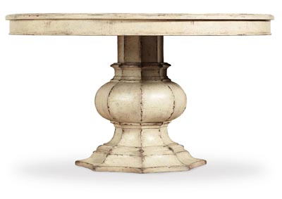 Image for Auberose Cultured Pearl 52in Round Pedestal Table