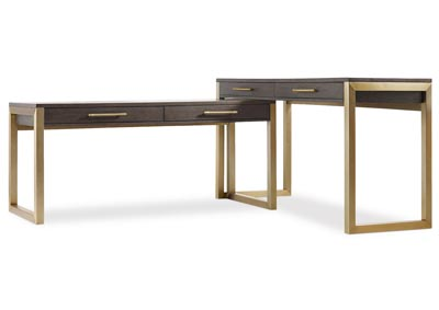 Image for Curata Mercury 2 Pc Desk Group