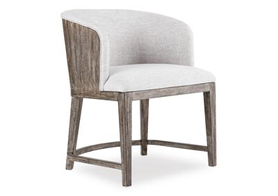Image for Curata Alto Upholstered Chair w/wood back