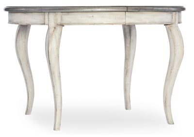 Image for Arabella Cultured Pearl 48in Round Leg Table w/1-20in leaf