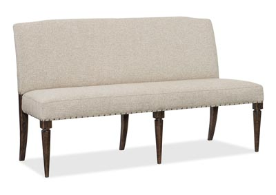 Image for American Life-Roslyn Ash Upholstered Dining Bench