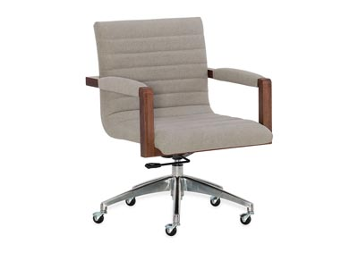 Image for Gray Elon Swivel Desk Chair