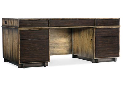 Image for American Life-Crafted Birch Executive Desk