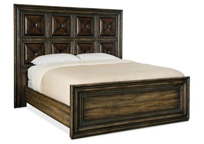 Image for American Life-Crafted Zeus California King Panel Bed