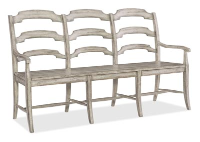 Image for Boheme Mercury Du Monde Ladderback Dining Bench