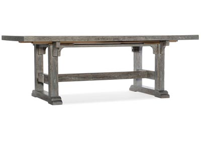 Image for Beaumont Gallery 84in Rectangular Dining Table w-2/22in Leaves
