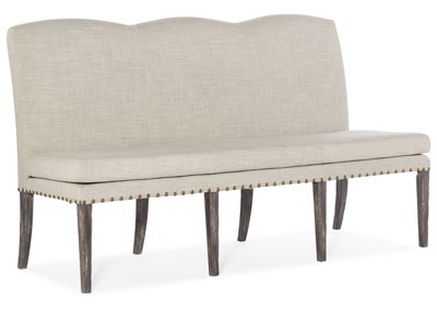 Image for Beaumont Ash Upholstered Dining Bench