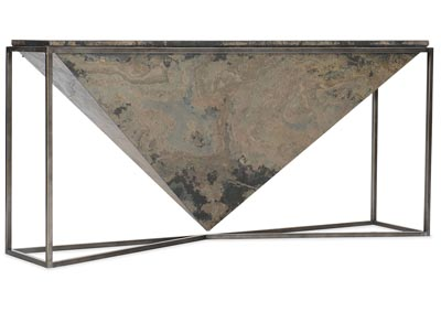 Image for Makara Princess Cut Console Table