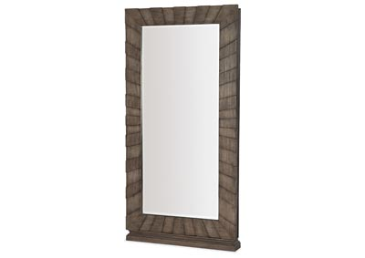 Image for Woodlands Gallery Floor Mirror w/ Jewelry Storage