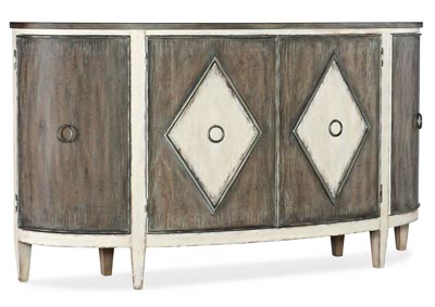 Image for Sanctuary 2 Satin Linen Et Jolie Demilune Buffet