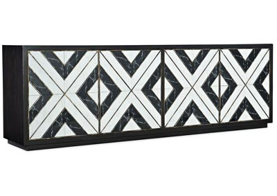 Image for Sanctuary 2 Porcelain Grand Noir Et Blanc Entertainment Console
