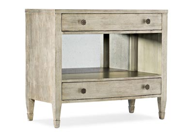 Image for Sanctuary 2 Malta Gemme Two Drawer Nightstand