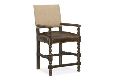 Image for Hill Country Indian Khaki Comfort Counter Stool
