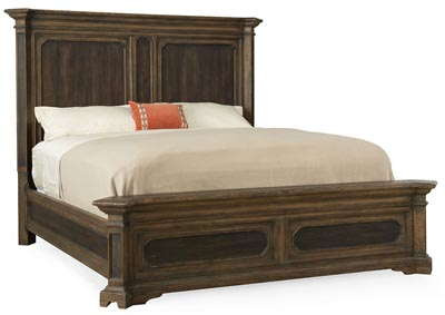 Image for Hill Country Mondo Woodcreek California King Mansion Bed