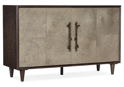 Image for Melange Pale Oyster Brennon Accent Chest