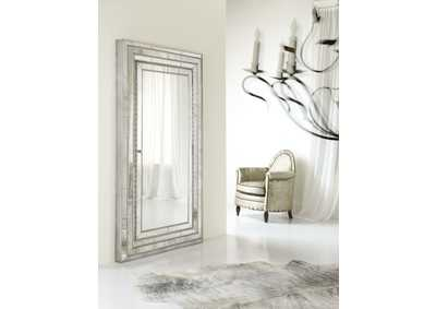 Image for Melange Glamour Floor Mirror w/Jewelry Armoire Storage