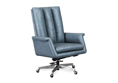 Image for EC Pale Sky Tycoon Executive Swivel Tilt Chair w/ Metal Base
