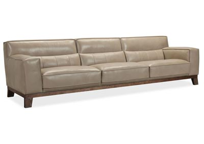 Image for SS Mercury Prosper Grand Leather Stationary Sofa