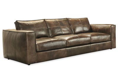 Image for SS Mondo Solace Leather Stationary Sofa