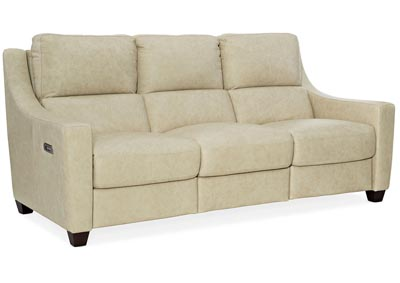 Image for MS Coral Reef Monti Leather PWR Sofa w/PWR Headrest